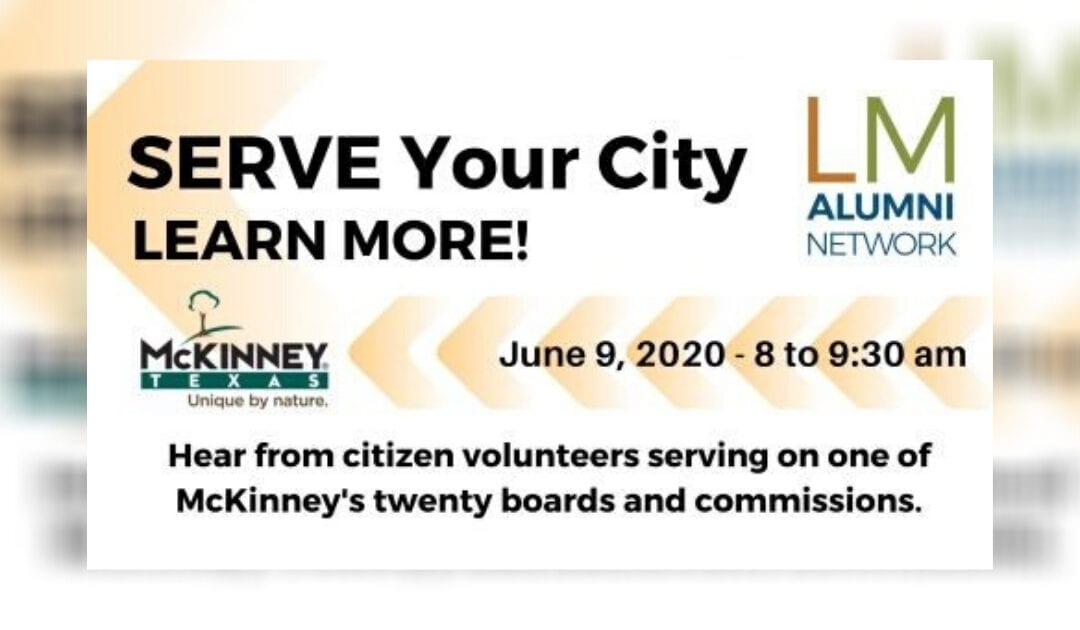 City Boards and Commissions Information Session to Connect Citizens Wanting To Serve