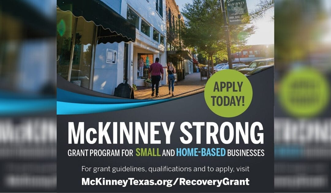 City opens Round Two of 'McKinney Strong' Grant Program